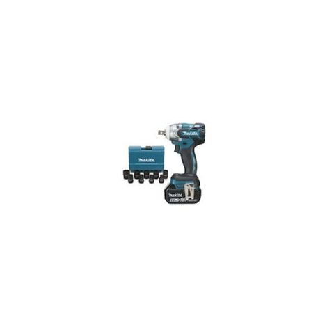 Boulonneuse à chocs 18 V Li-Ion 5 Ah 280 Nm MAKITA DTW285RTJX