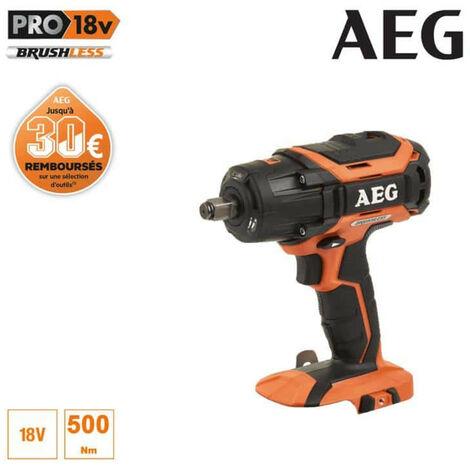 Boulonneuse à chocs brushless AEG 18V - sans batterie ni chargeur BSS 18C12ZBL-0