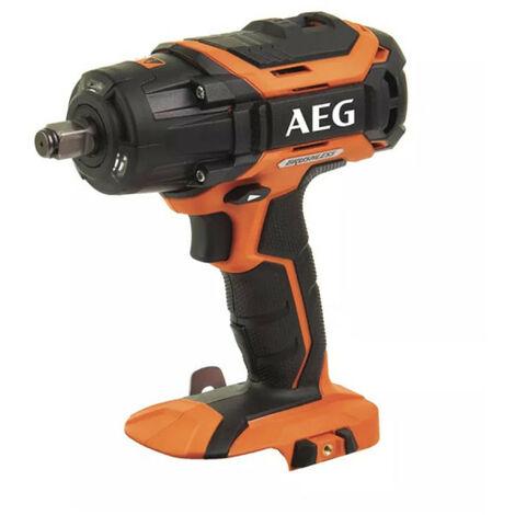 Boulonneuse à chocs brushless AEG 18V - sans batterie ni chargeur BSS18C12ZBL-0