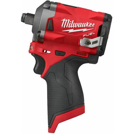 Boulonneuse à chocs MILWAUKEE FUEL M12 FIWF12-0 - sans batterie ni chargeur 4933464615