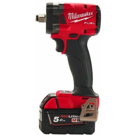 """Boulonneuse compacte 1/2"""" M18 FUEL 2 batteries 5 Ah, chargeur, en coffret - Milwaukee M18 FIW2F12-502X"""