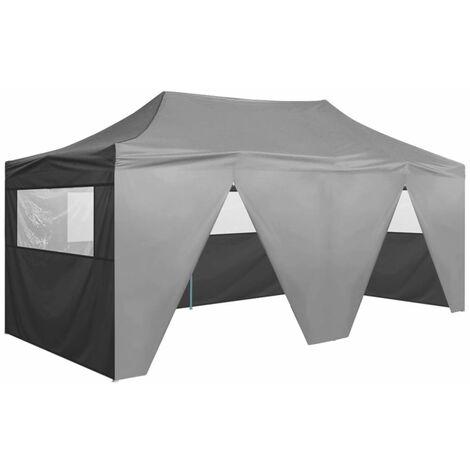 Boulton 3m x 6m Steel Pop-Up Party Tent by Dakota Fields - Anthracite