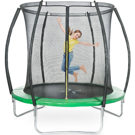 Bouncemaster 8ft Trampoline With Safety Net Enclosure