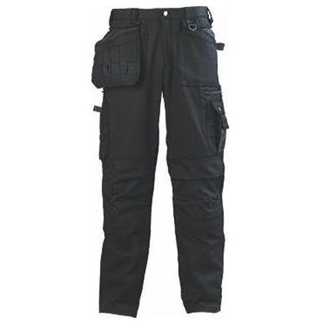 BOUND BLACK Pantalon de travail homme multipoches Coverguard