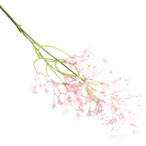 Bouquet De Fleurs De Gypsophile Artificiel, Decor De Mariage a La Maison, Rose