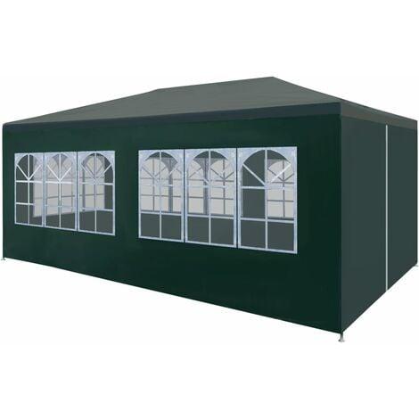 Bourassa 3m x 6m Steel Party Tent by Dakota Fields - Green