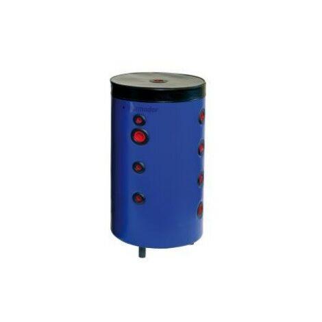 """main image of """"Bouteille de mélange/accumulation 100 litres Ø 400x871mm sur pied avec jaquette skaï pour chauffage et clim THERMADOR 0640-051"""""""