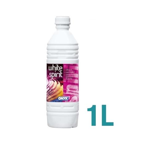 Bouteille de white spirit solvant décapant 1L