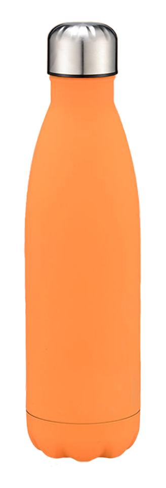 Bouteille D'Eau, Acier Inoxydable, 500 Ml, Orange