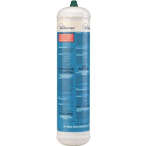 Bouteille oxygène 110 bar KEMPER M 10 Soudure bi-gaz Jetable 110 litres