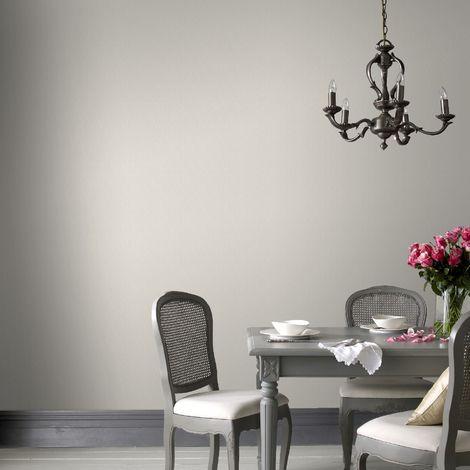 Boutique Grey Iris Plain Wallpaper (Was £24)