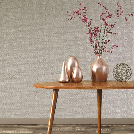 Boutique Pale Gold Lux Weave Wallpaper