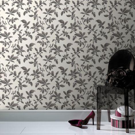 Boutique Sarra Black / White Wallpaper