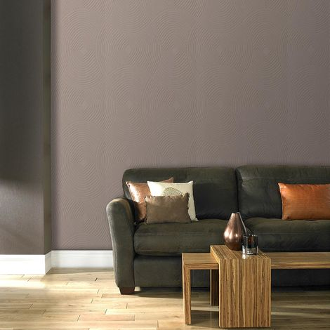 Boutique Ulterior Taupe Wallpaper (Was £23)