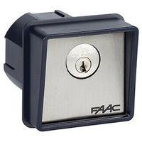 Bouton de la clé Faac encastré ou colonne T10 4010101
