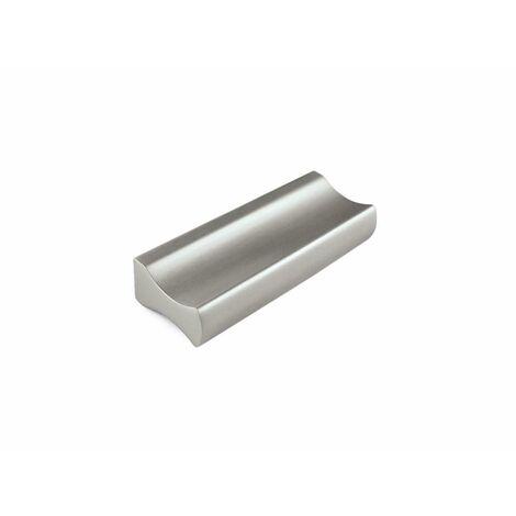 Bouton de meuble 9X12X88Mm Aluminium Aluminium Mt Rei 7-2279.64.63