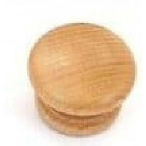 Bouton de meuble en bois avec manche en hêtre m5