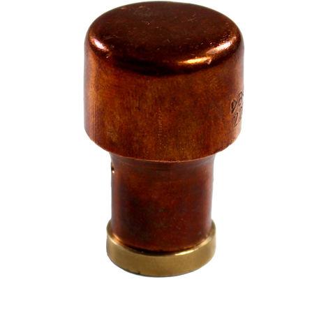 """Bouton de meuble en cuivre """"Industriel"""" - Arcanaute"""