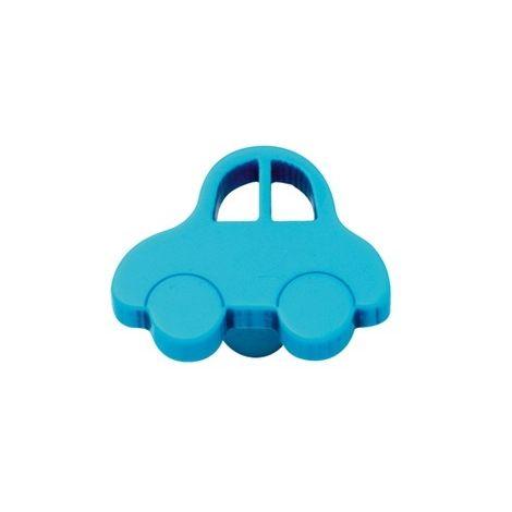 Bouton De Porte Et Tiroir De Meuble Voiture Enfant En Platique Bleu De 44x34mm Petite Oto 8773959