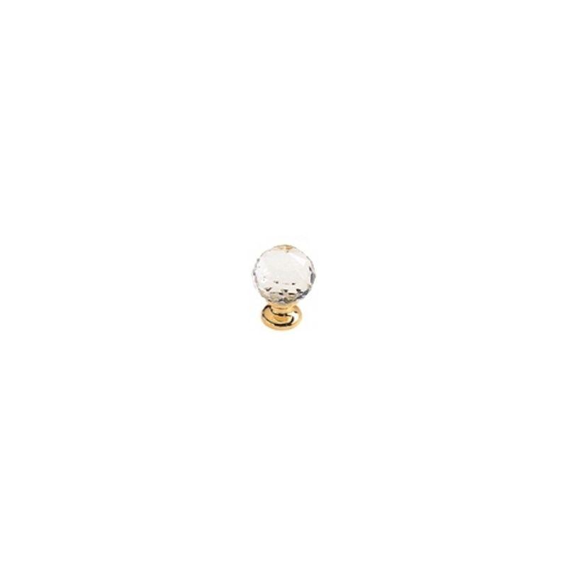 Bouton De Porte Et Tiroir De Meuble Design En Cristal A Facettes O 25 Mm Boule Diamant A875167