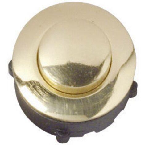 Bouton de sonnette simple Heidemann 70095 or 24 V/1 A