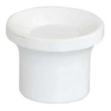 Bouton de tirage pour mécanisme WC cloc toc avec écrou.