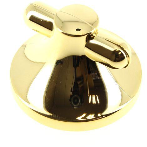 Bouton dore retro 12h pour Table de cuisson Thermor, Table de cuisson Sauter