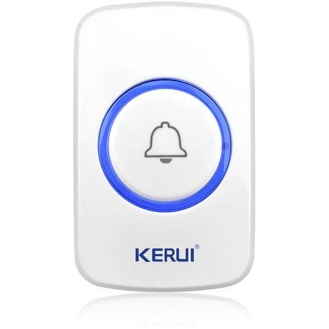 """main image of """"Bouton D'Urgence Sos Sans Fil F51, Accessoire D'Alarme 433 Mhz, Utilise Dans Le Systeme D'Alarme Domestique Intelligent, Blanc"""""""