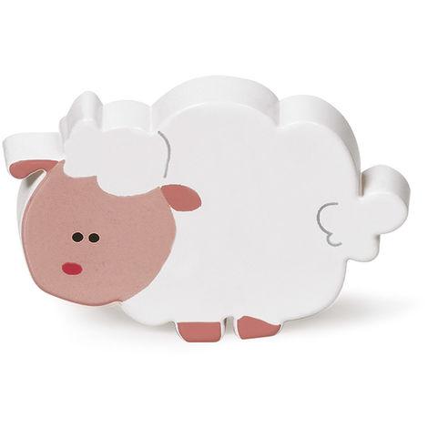 """main image of """"Bouton en plastique finition mouton, dimensions: 78x53x25mm - talla"""""""
