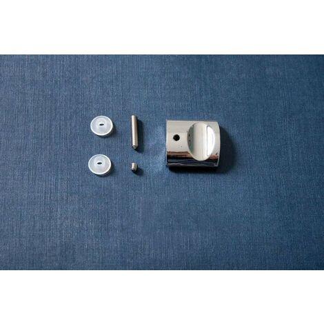 Bouton interne de remplacement pour poignée Blanc ou Chrome POLARIS Samo RIC863