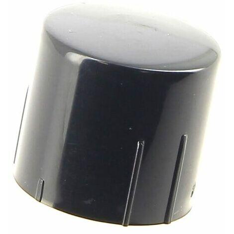 Bouton noir poussoir pour Lave-vaisselle Ariston