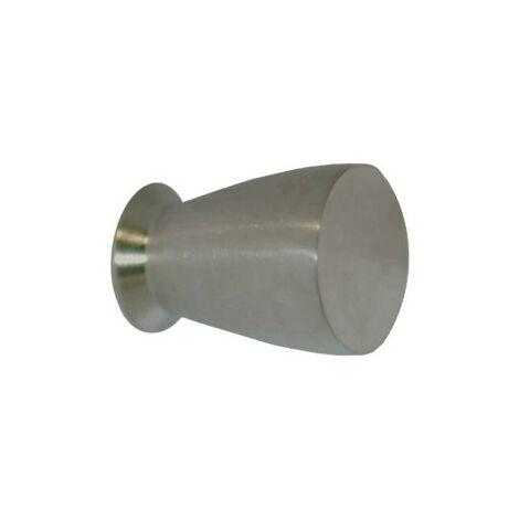 Bouton pour meuble Inox 304 - 14 mm - Finition brossé mat