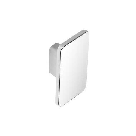 Bouton pour meuble moderne SIRO Zamak - 56 x 33 mm - Chrome brillant