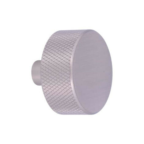 Bouton pour meuble SIRO Aluminium - 33 mm - Inox mat