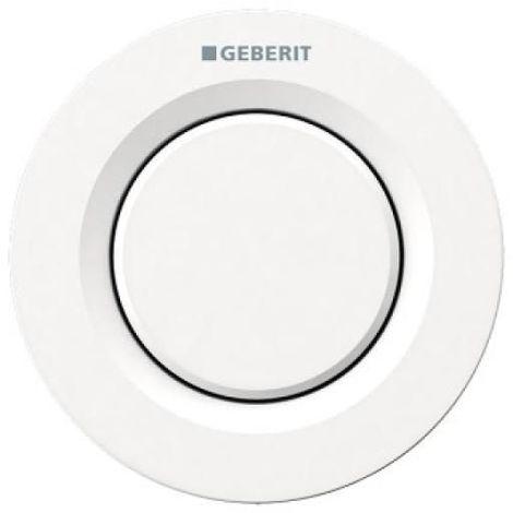 Bouton-poussoir de déclenchement pneumatique à distance type 01 pour rinçage 1 touche à encastrer Blanc Alpin