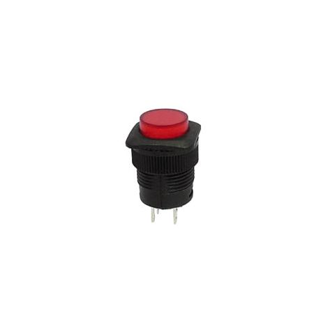 BOUTON-POUSSOIR OFF-ON AVEC LED ROUGE SWITCHES R1394A