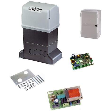 BOX 844 Z12 ELECTROFREIN AVEC ELECTRONIQUE E145 PORTAIL COULISSANT FAAC - FAAC