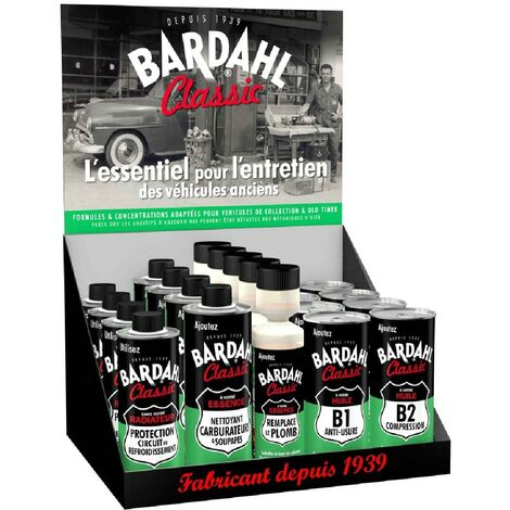 Box additifs Bardahl Classic