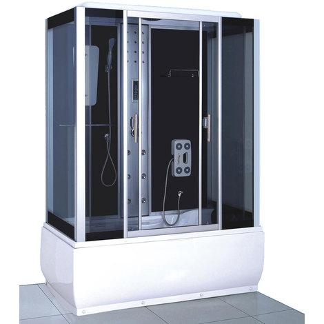BOX CABINA DOCCIA IDROMASSAGGIO Modello SICILY 150 X 83 CM (cm 218 h)
