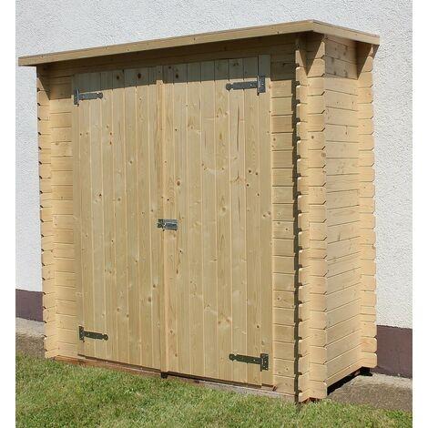 Casetta armadio kerti legno abete nordico gartenpro 195x88x196h - Gartenpro