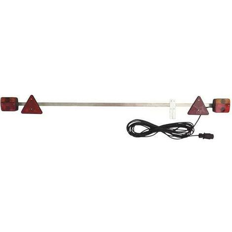 box de 6 rampes d'eclairage agricole standard 7m50