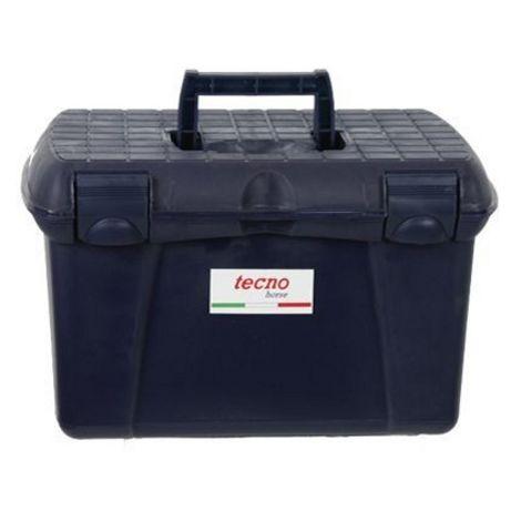 Box de rangement pour chevaux en plastique rigide avec trois secteurs Tecno