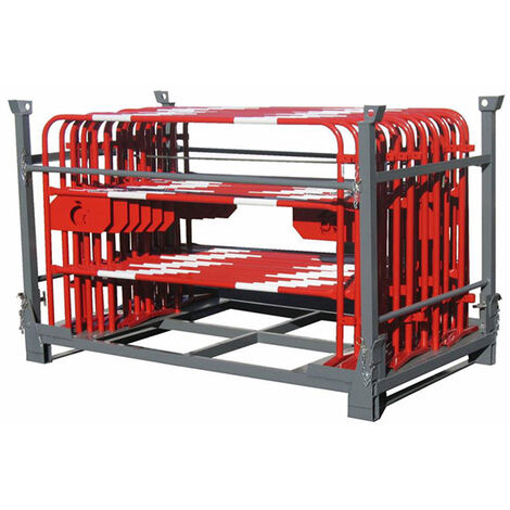 Box de stockage pour barrière de chantier (plusieurs tailles disponibles)