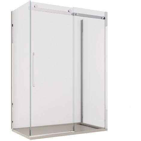 Box Doccia Tre Lati.Box Doccia 8 Mm Tre Lati Senza Profili Euclide 2 0 70 80 100 110 120 140