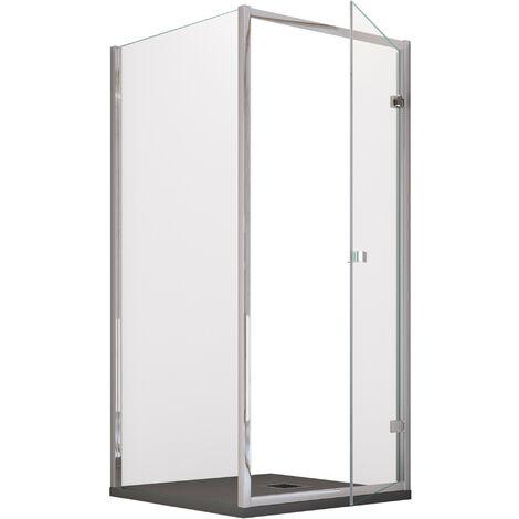 Cabina Doccia 80 X 90.Box Doccia Gaia 2 0 6mm H195cm Porta Battente 70x70 70x80 70x90