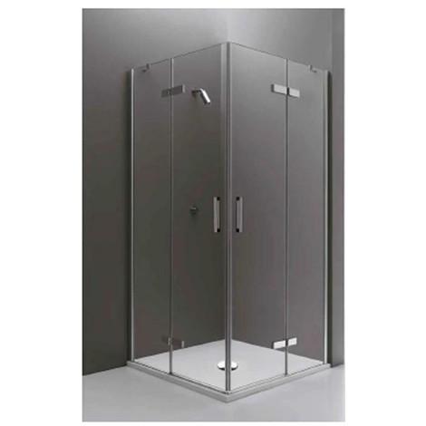 Cabina Doccia 90 X 90.Box Doccia Infinity In Cristallo 90x90 Cm Quadrato Ad Ante Battenti