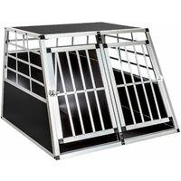 box doppio da trasporto per cani