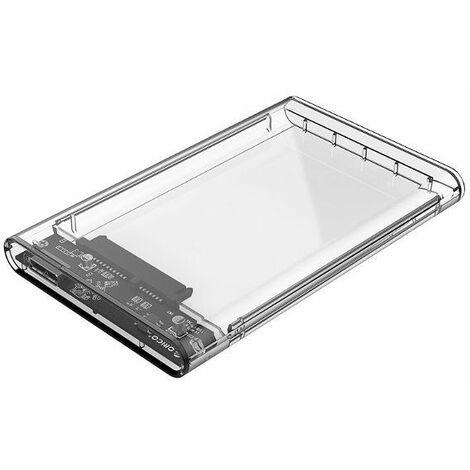 Box for ORICO 2139U3-CR External Hard Drive 2TB USB 3.0 Transparent 2.5 inch