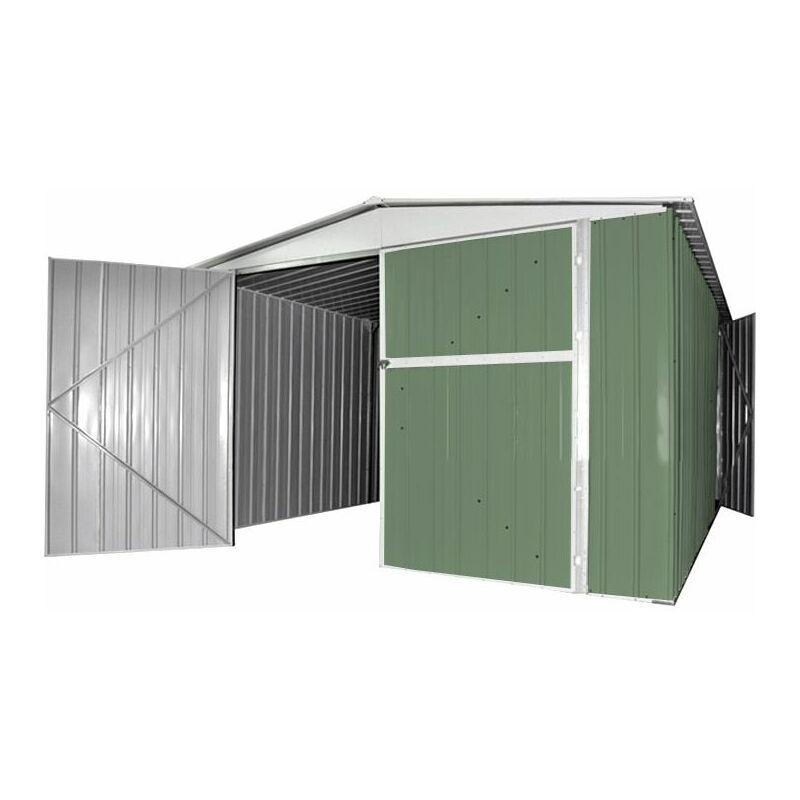 Vasca Da Bagno In Lamiera Zincata : Box garage lamiera deposito in acciaio zincato cm h