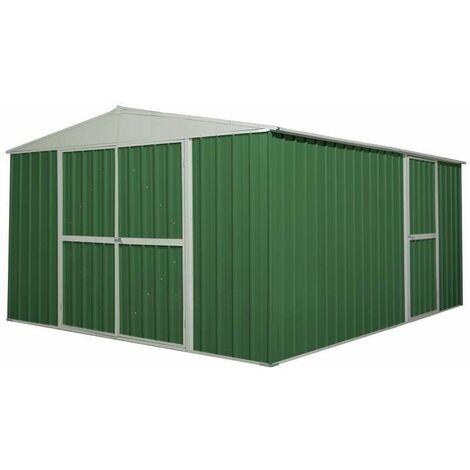 Box garage lamiera zincata casetta giardino acciaio for Box garage lamiera